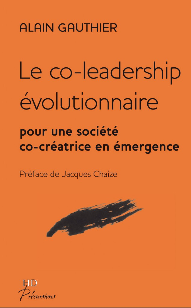 Couverture Le co-leadership évolutionnaire